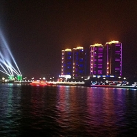 Lighting Project for Hanjiang River—— The Largest Branch of Changjiang River